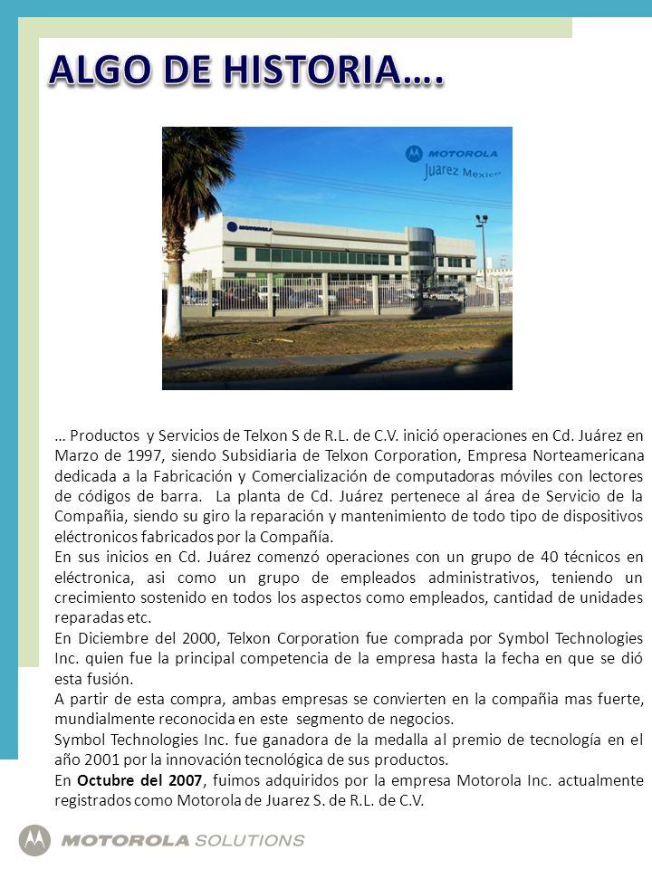 ALGO DE HISTORIA….