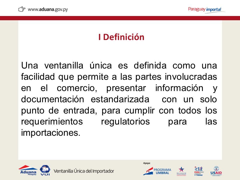 I Definición