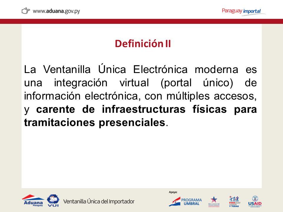 Definición II