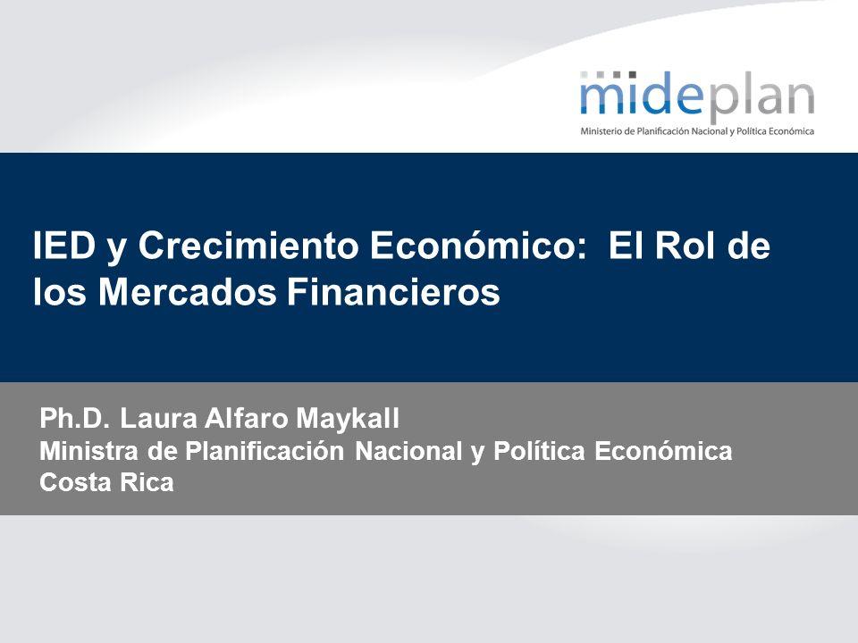 IED y Crecimiento Económico: El Rol de los Mercados Financieros
