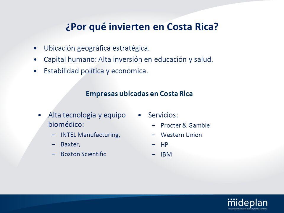 ¿Por qué invierten en Costa Rica