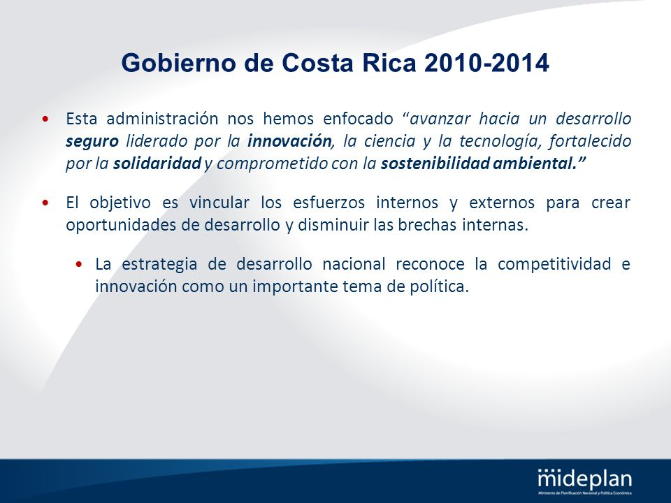 Gobierno de Costa Rica 2010-2014