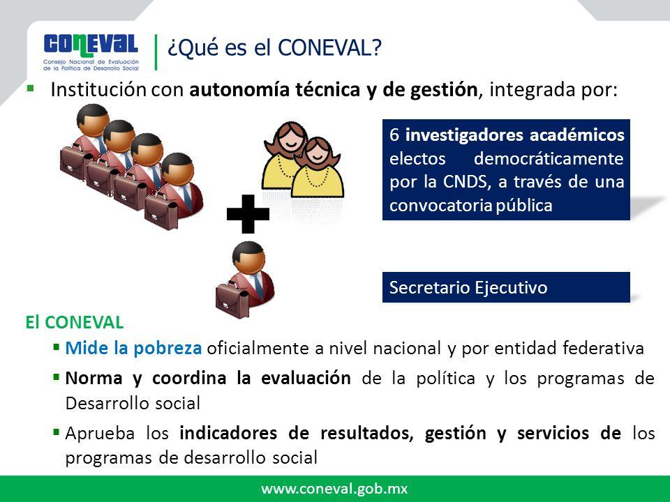Institución con autonomía técnica y de gestión, integrada por: