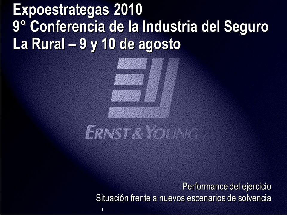 Argentina Expoestrategas 2010 9° Conferencia de la Industria del Seguro La Rural – 9 y 10 de agosto.
