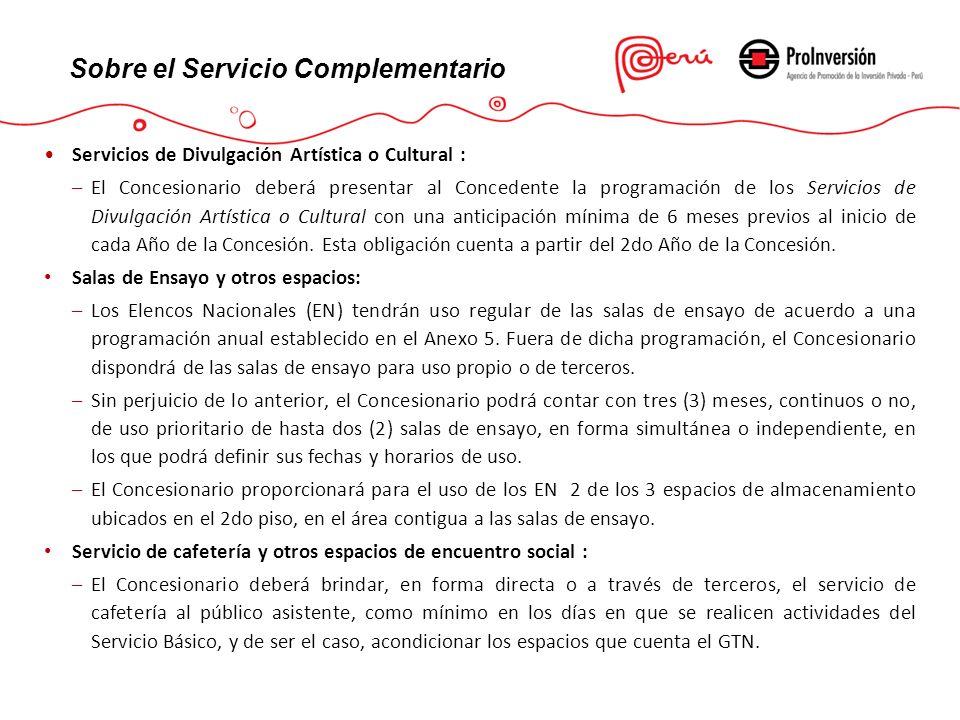 Sobre el Servicio Complementario