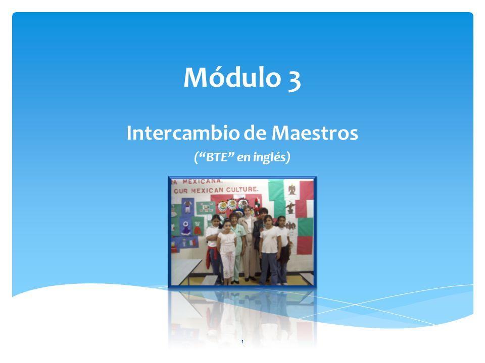 Intercambio de Maestros ( BTE en inglés)