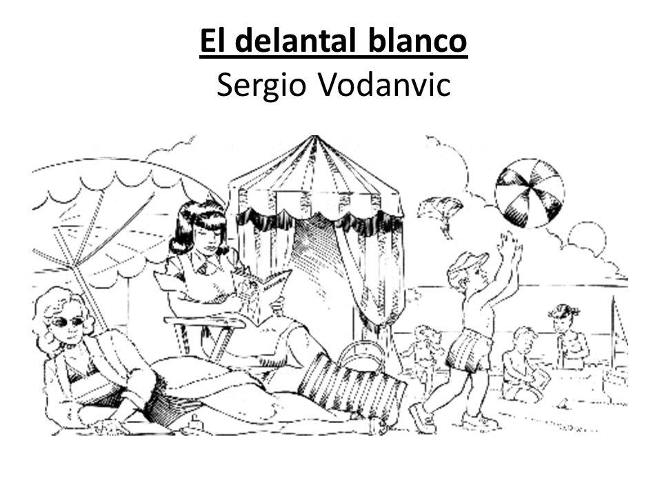 El delantal blanco Sergio Vodanvic