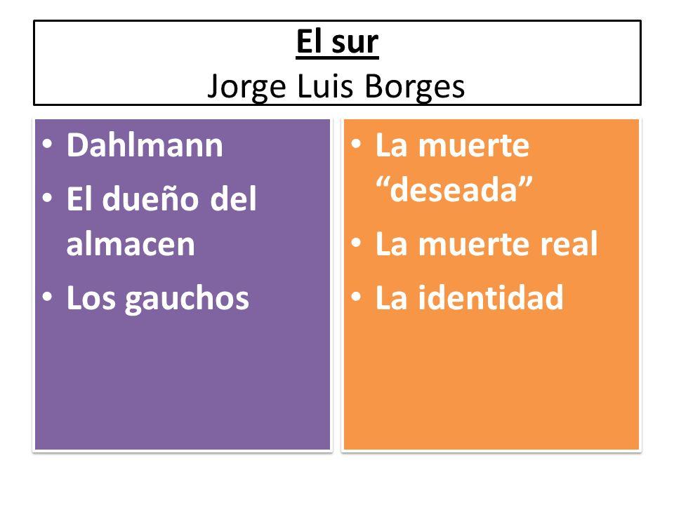 El sur Jorge Luis Borges