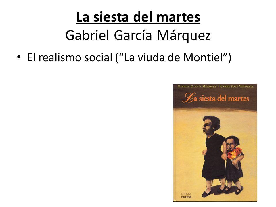 La siesta del martes Gabriel García Márquez