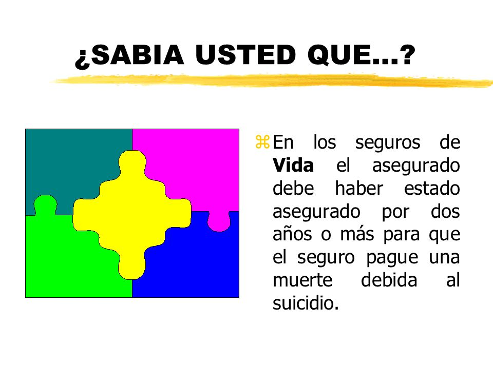 ¿SABIA USTED QUE...
