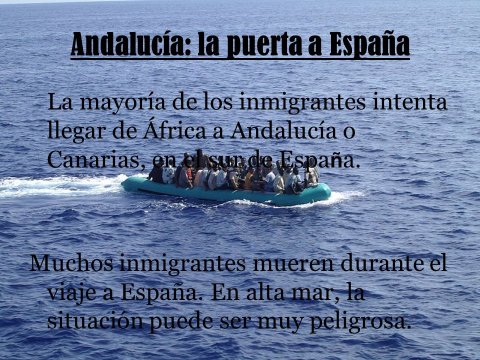 Andalucía: la puerta a España