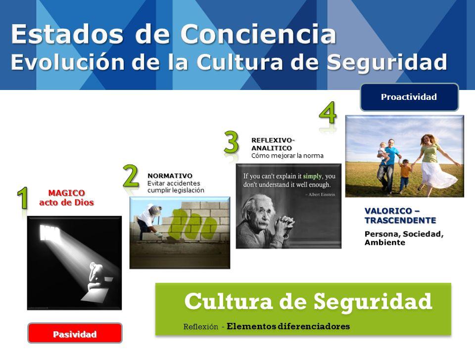 Estados de Conciencia Evolución de la Cultura de Seguridad