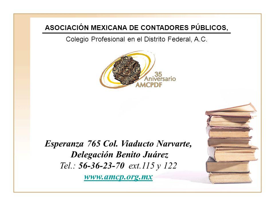 ASOCIACIÓN MEXICANA DE CONTADORES PÚBLICOS,