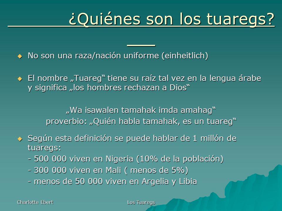 ¿Quiénes son los tuaregs