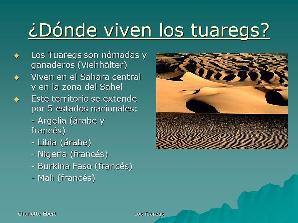 ¿Dónde viven los tuaregs