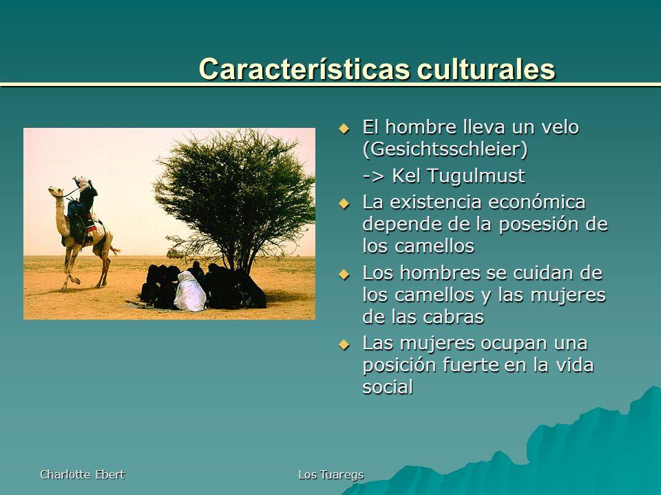 Características culturales
