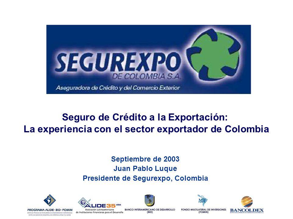 Seguro de Crédito a la Exportación: