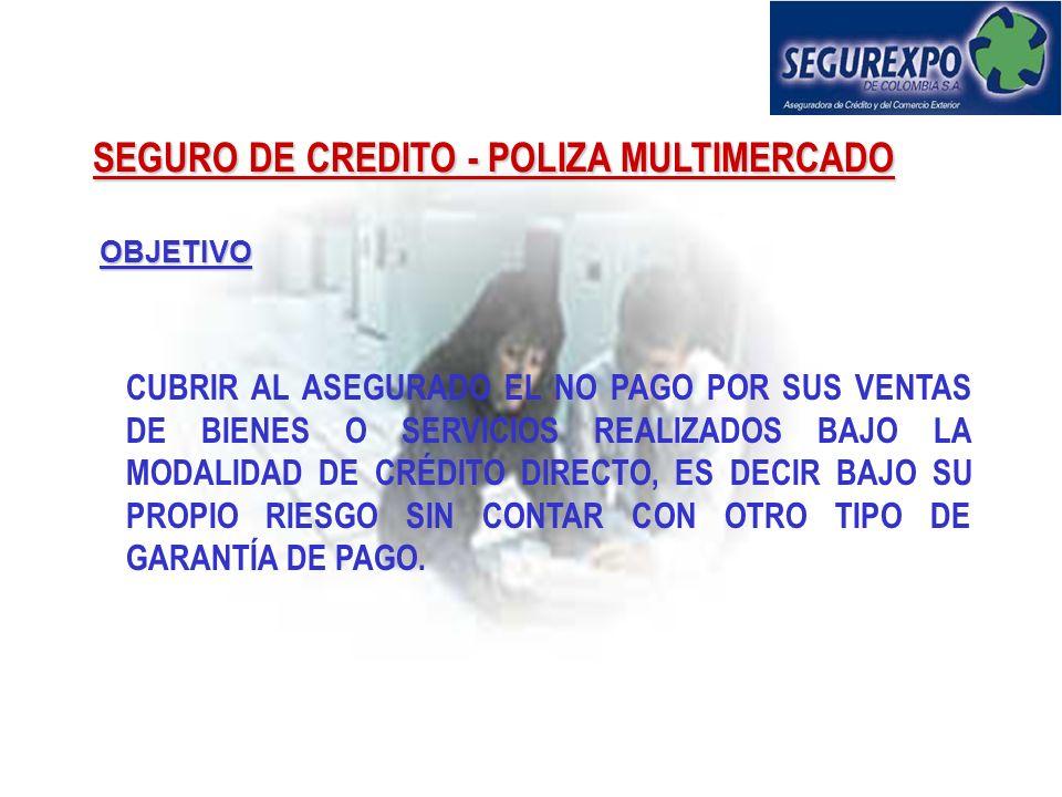 SEGURO DE CREDITO - POLIZA MULTIMERCADO