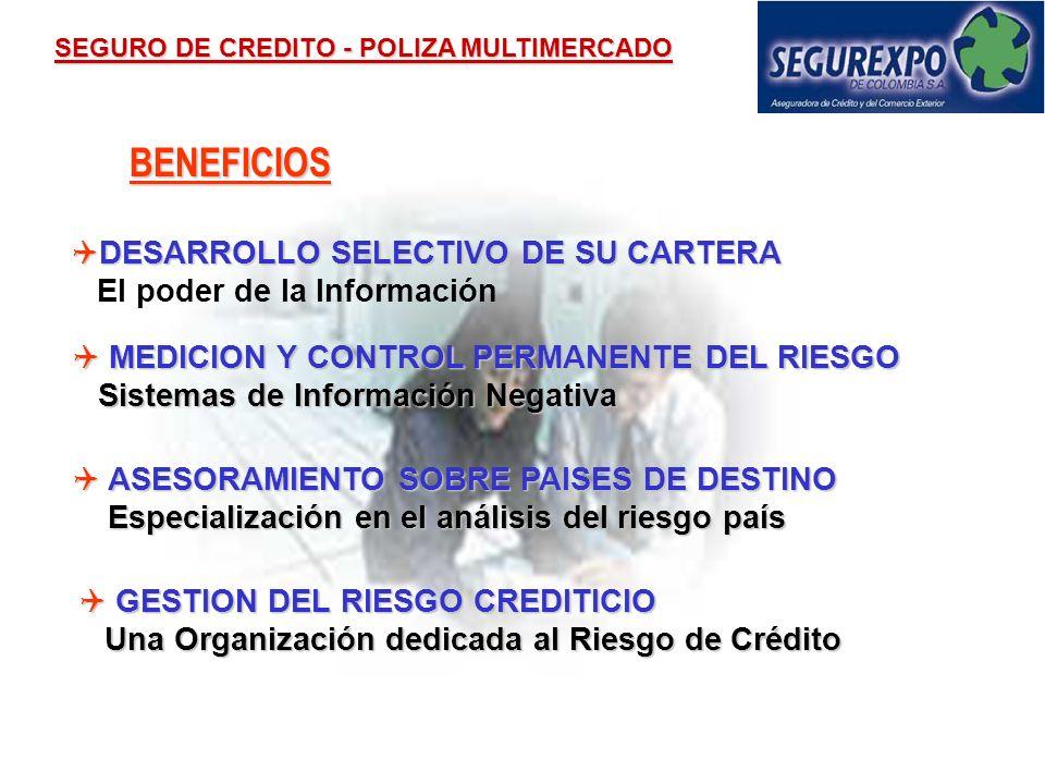 BENEFICIOS DESARROLLO SELECTIVO DE SU CARTERA