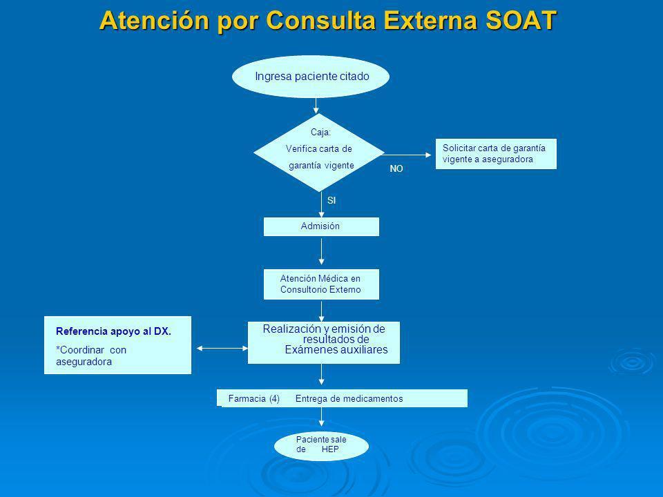 Atención por Consulta Externa SOAT