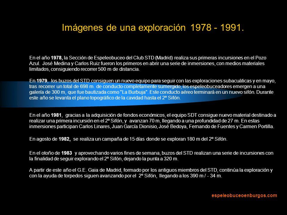 Imágenes de una exploración 1978 - 1991.