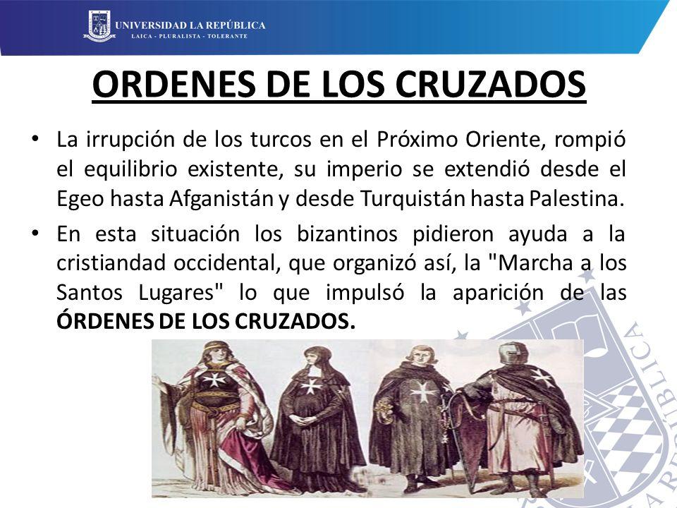 ORDENES DE LOS CRUZADOS