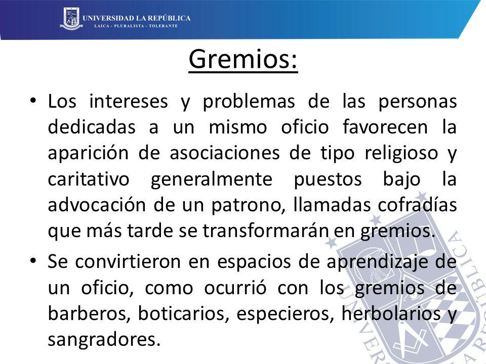 Gremios: