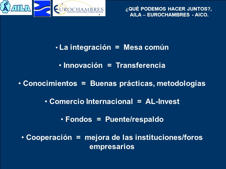 Innovación = Transferencia