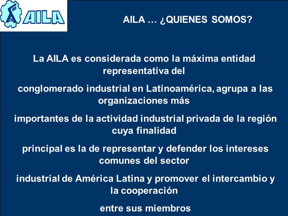 La AILA es considerada como la máxima entidad representativa del