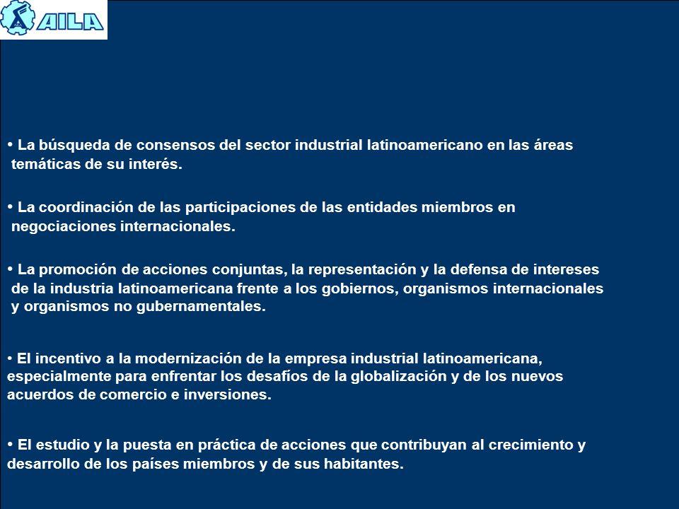 La coordinación de las participaciones de las entidades miembros en