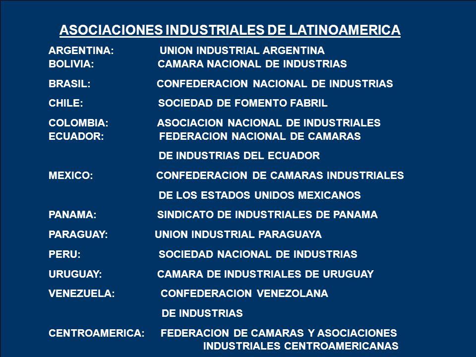 ASOCIACIONES INDUSTRIALES DE LATINOAMERICA