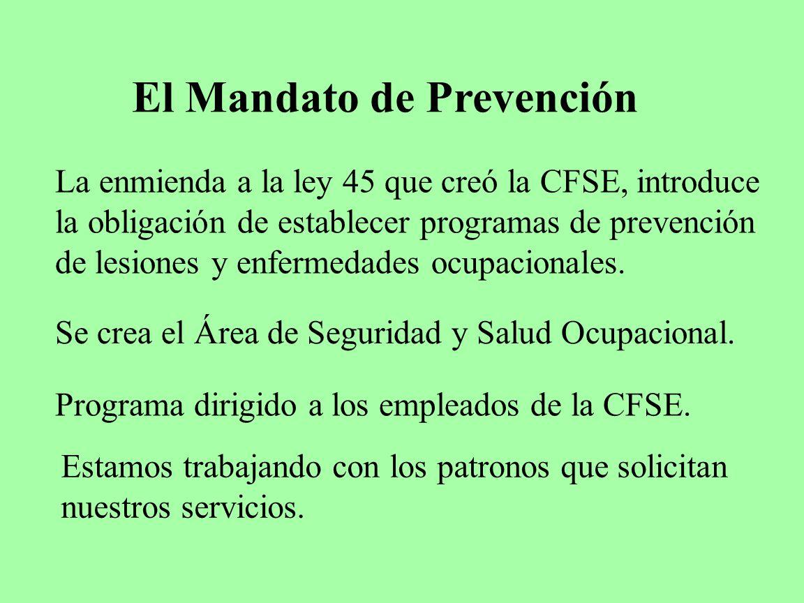 El Mandato de Prevención