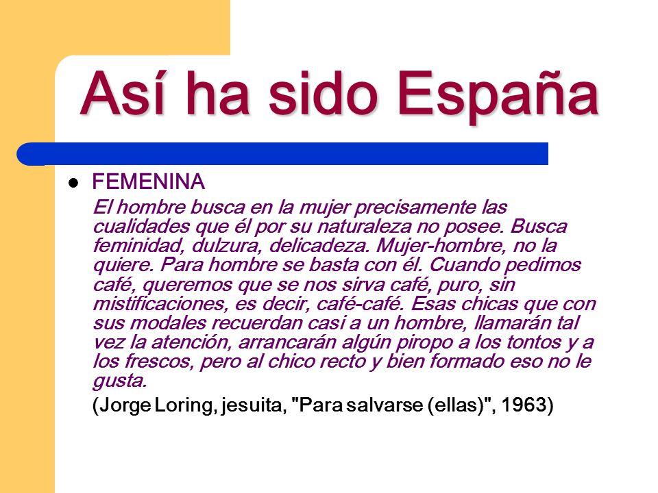 Así ha sido España FEMENINA