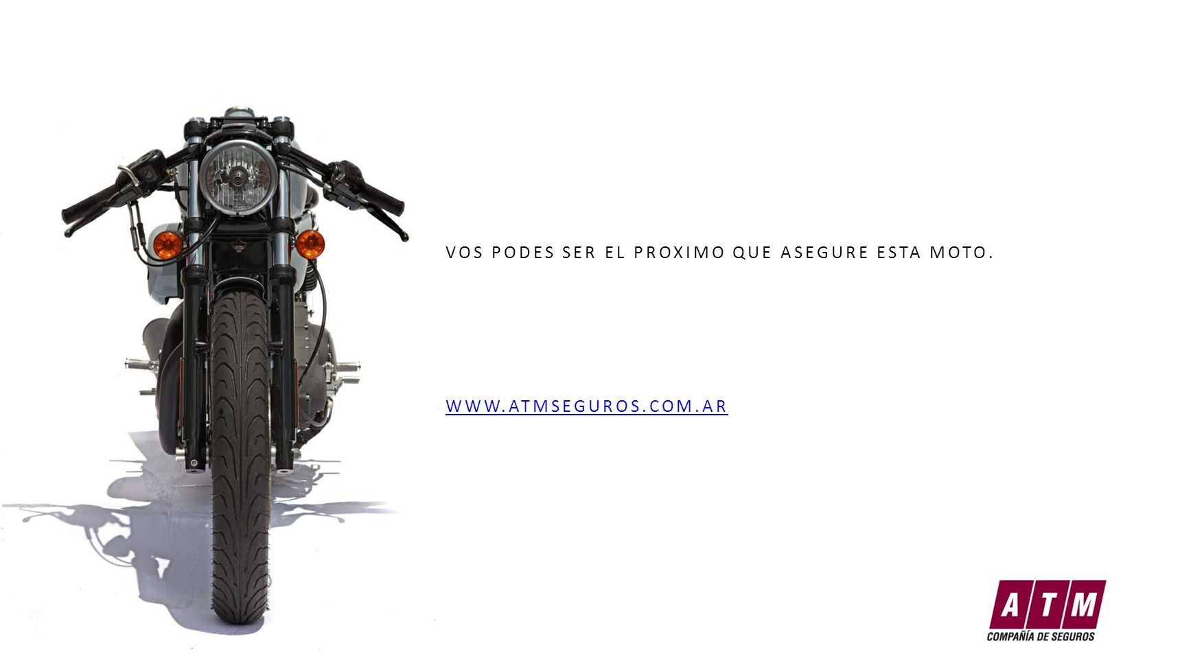 VOS PODES SER EL PROXIMO QUE ASEGURE ESTA MOTO.