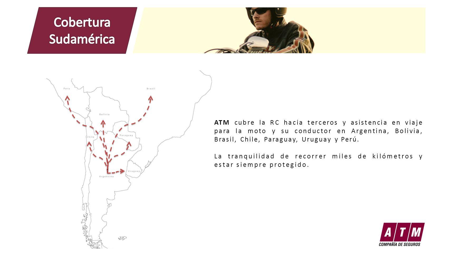 Cobertura Sudamérica.