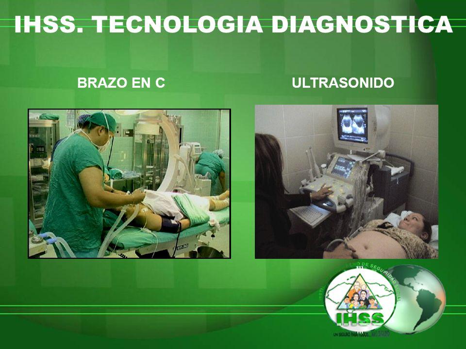 IHSS. TECNOLOGIA DIAGNOSTICA