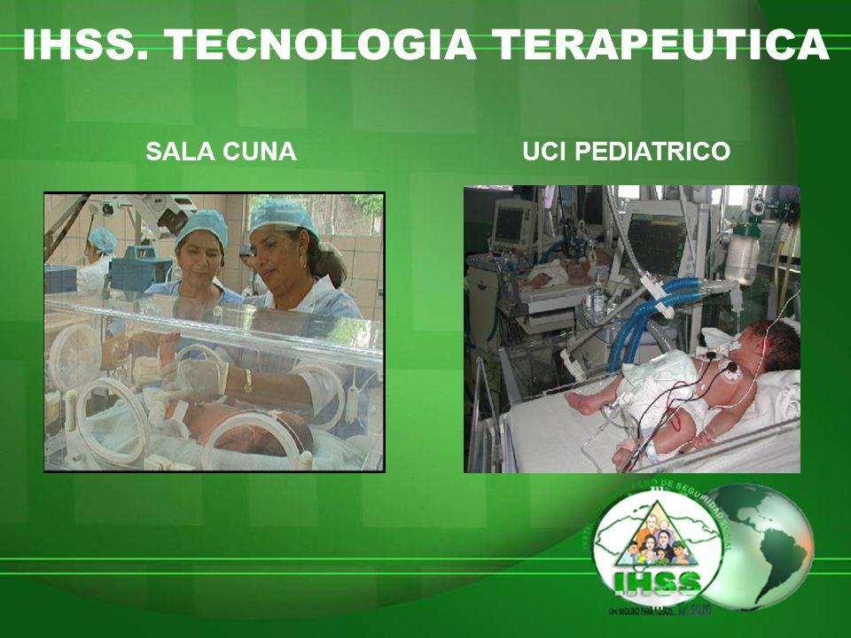 IHSS. TECNOLOGIA TERAPEUTICA