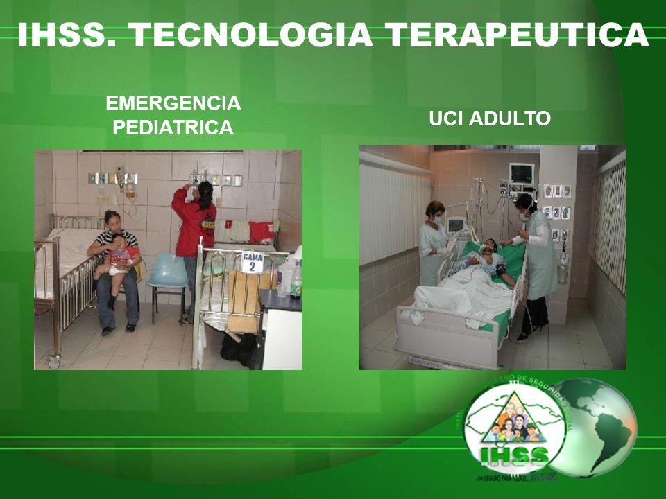 IHSS. TECNOLOGIA TERAPEUTICA EMERGENCIA PEDIATRICA