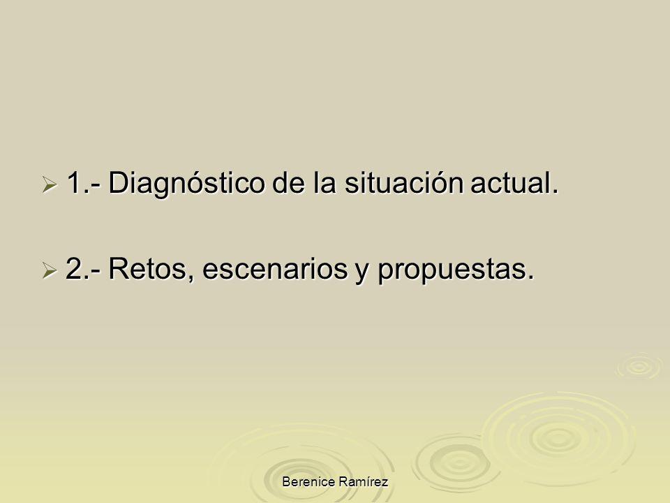 1.- Diagnóstico de la situación actual.