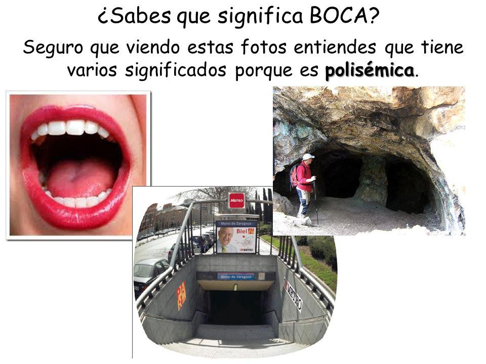 ¿Sabes que significa BOCA