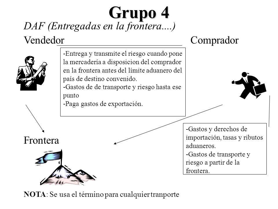 Grupo 4 DAF (Entregadas en la frontera....) Vendedor Comprador