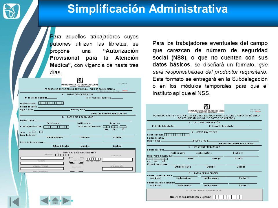 Simplificación Administrativa