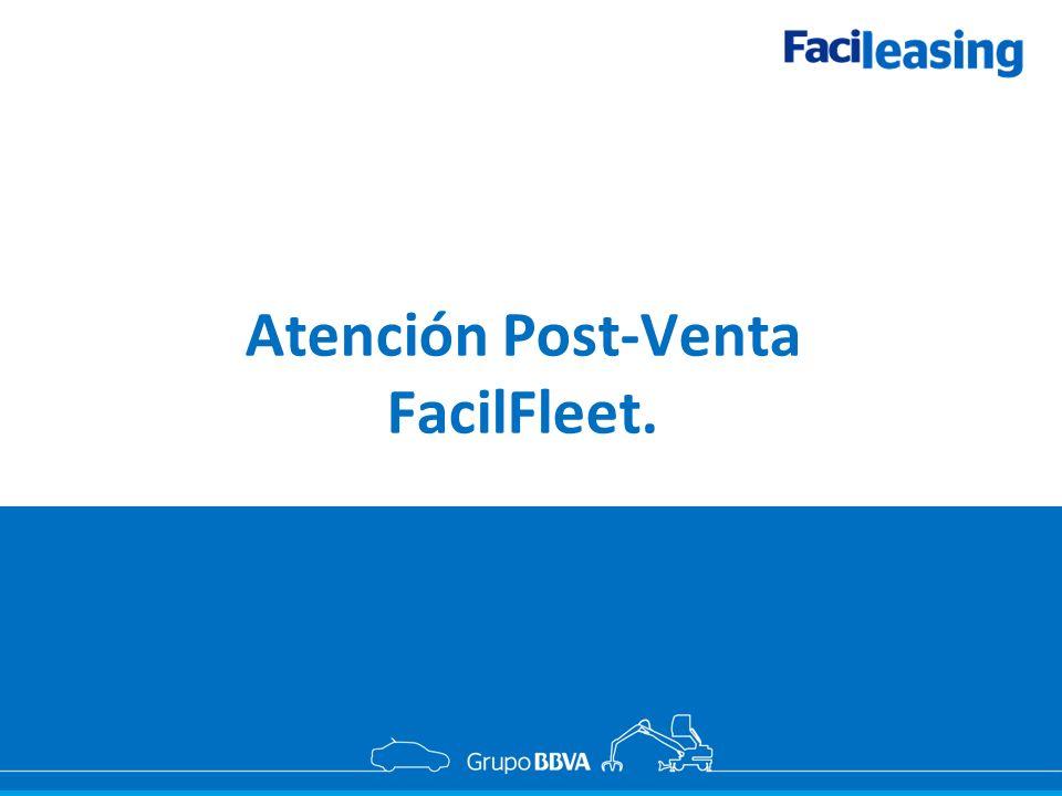 Atención Post-Venta FacilFleet.