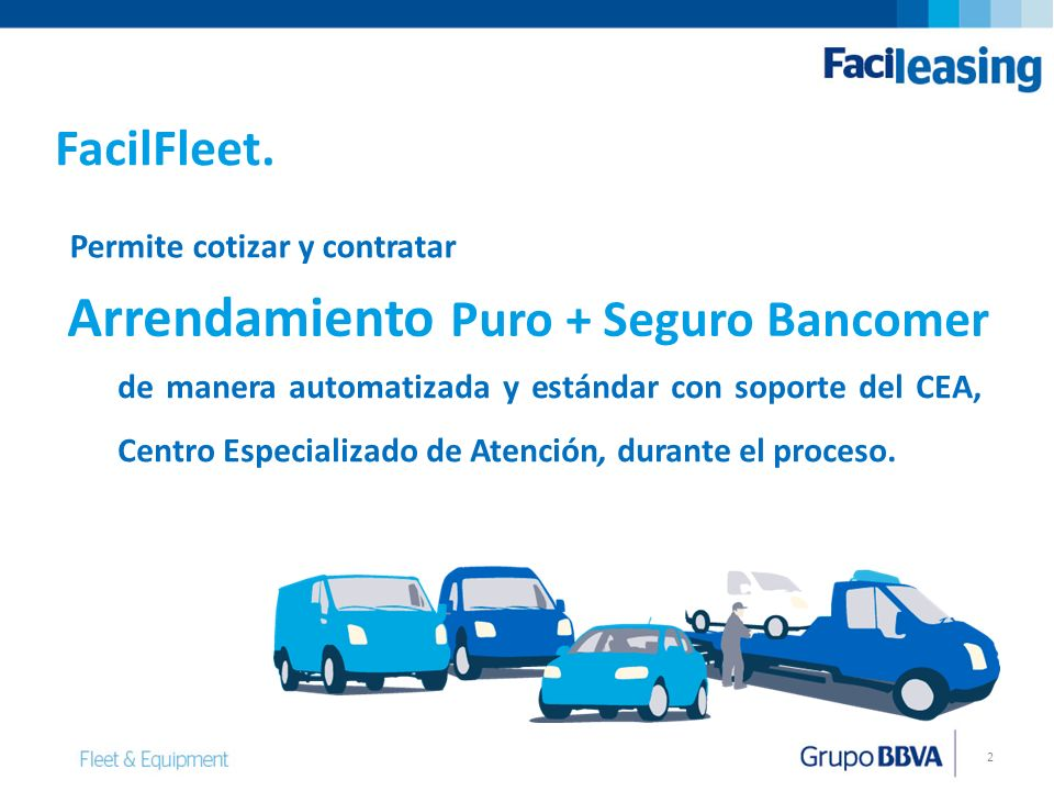 Arrendamiento Puro + Seguro Bancomer