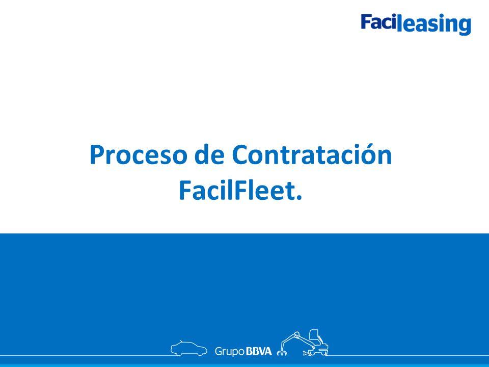Proceso de Contratación FacilFleet.