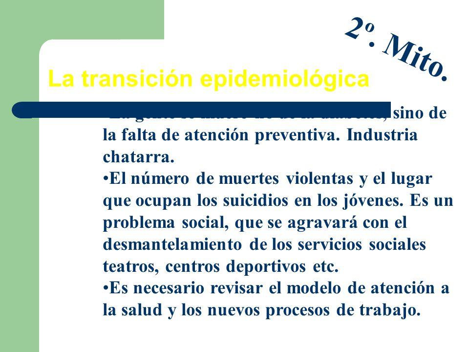 La transición epidemiológica