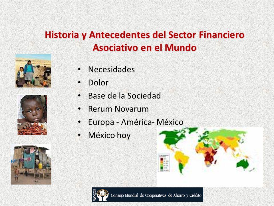 Historia y Antecedentes del Sector Financiero Asociativo en el Mundo