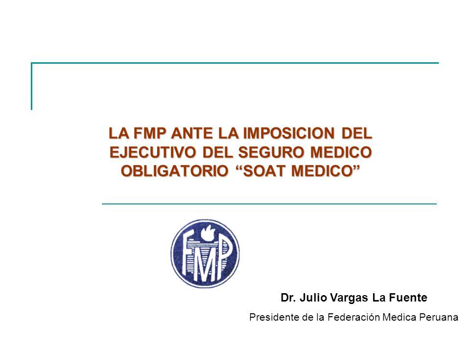Dr. Julio Vargas La Fuente