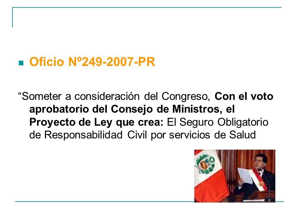 Oficio Nº249-2007-PR