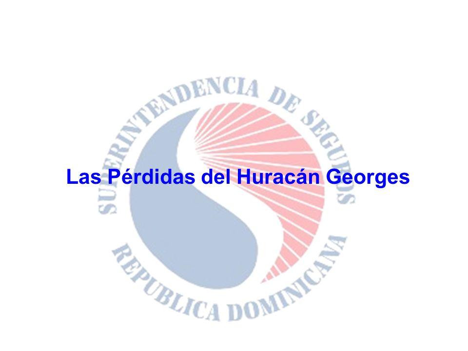 Las Pérdidas del Huracán Georges